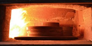 Glühen und Vergüten von Stahlwerkstücken