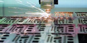 Laserzuschnitte Stahl, Edelstahl und Aluminium
