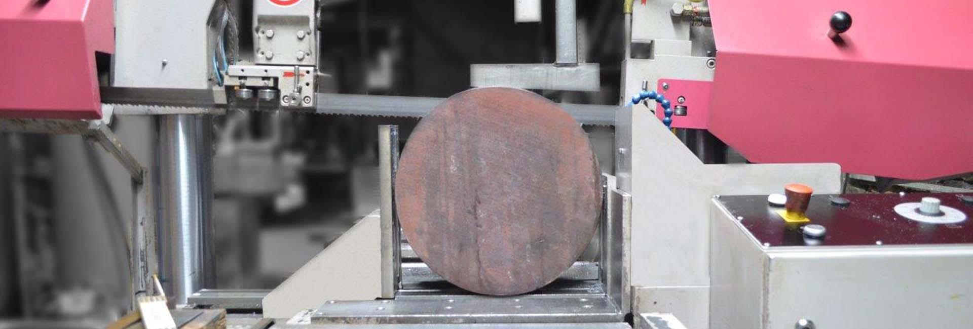 Sägen von Rundmaterial